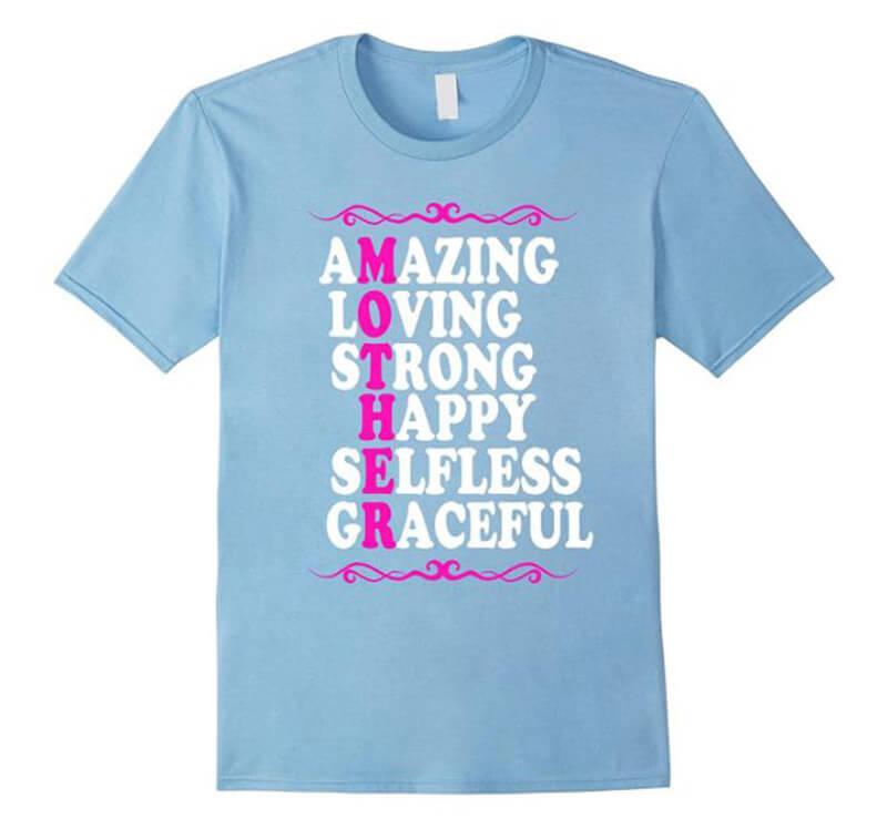 Amazing Loving Strong Happy Selfless Graceful