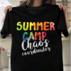 Chaos Coordinator Funny Summer Camp Counselor T-Shirts