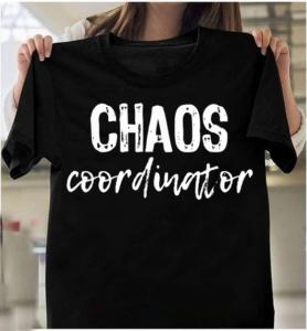 Chaos Coordinator Teacher Gift T-Shirts