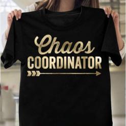Chaos Coordinator Vintage Condensed T-Shirts