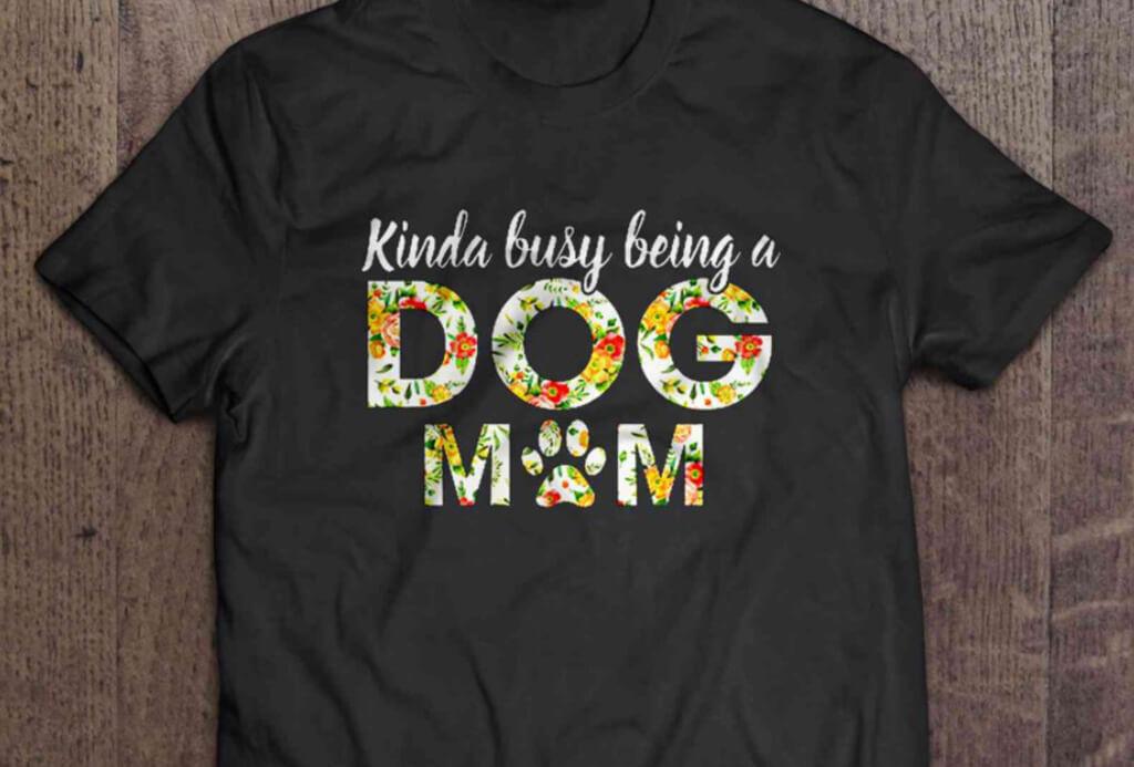 Dog Mom T Shirt Thumbnails