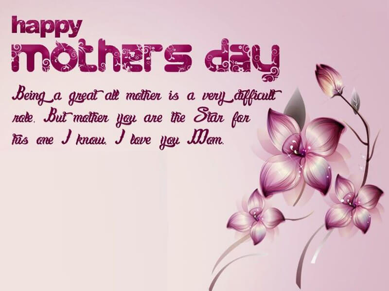 Happy Mothers Day Being A Great All Mother