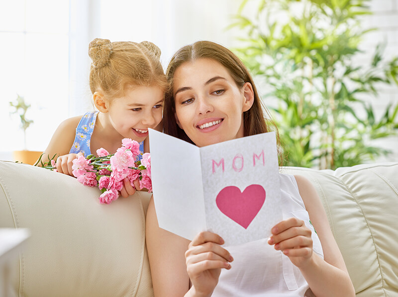 Mother's Day Images For Daughter - I Want You Always Smile