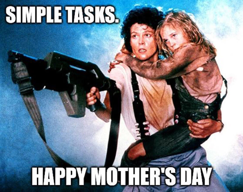 Simple Tasks Happy Mother's Day