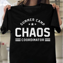 Summer Camp Chaos Coordinator Funny Summer Camp Counselor T-Shirts