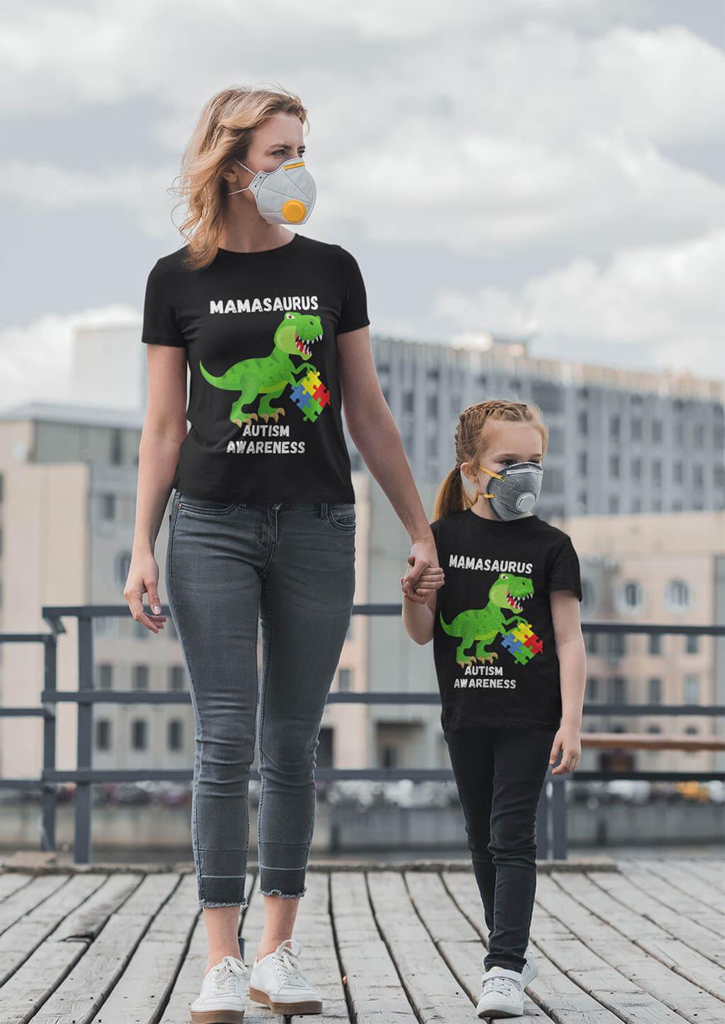 mamasaurus rex shirt mockup