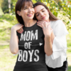 Mom Of Boys Funny Mother T-Shirts