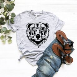 Cool Mama Bear, Gift For Mothers Day T-Shirts
