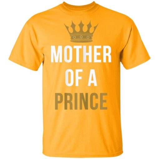 Mother Of A Prince Partner Outfit Mom And Son Matching T-Shirts 3 of Sapelle