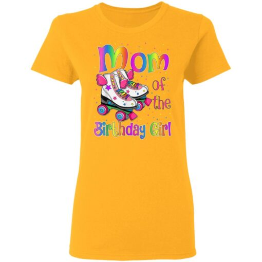 Mom Birthday Rolling Skate Birthday Family Party T-Shirts 8 of Sapelle