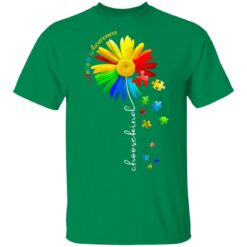Choose Kind Autism Awareness Sunflower Mom T-Shirts 18 of Sapelle