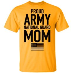 Proud Army National Guard Mom USA Mothers Day Military T-Shirts 14 of Sapelle