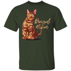 Bengal Cat Mom I Domestic Family Animal Friend T-Shirts 14 of Sapelle