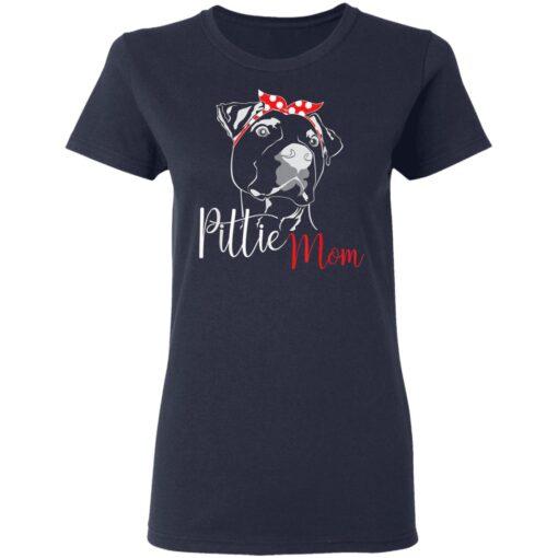 Pittie Mom American Pitbull T-Shirts 10 of Sapelle