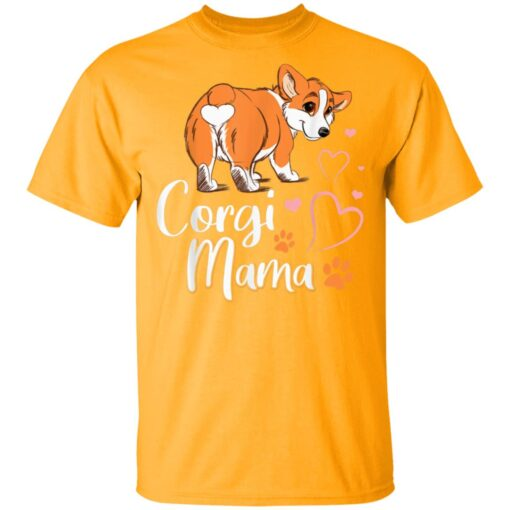 Corgi Mama Funny Corgi Dog Mom T-Shirts 3 of Sapelle