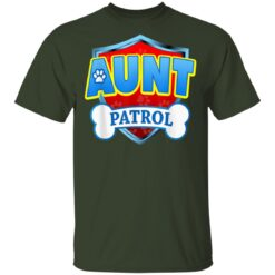 Funny Aunt Patrol Dog Mom Dad T-Shirts 14 of Sapelle