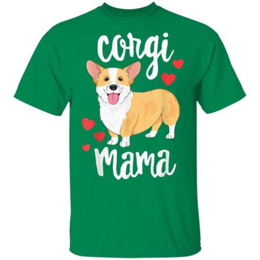 Corgi Mom Dog Mama Lover Gift T-Shirts 5 of Sapelle