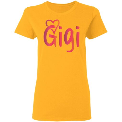 Gigi Mothers Day Gifts T-Shirts 8 of Sapelle