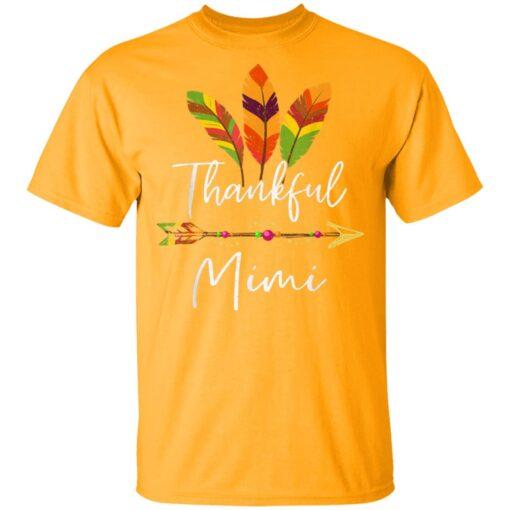 Thankful Mimi Feather Arrow Thanksgiving T-Shirts 3 of Sapelle