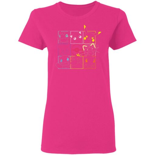 Pokemon Grid, Gift For Daughter Son T-Shirts 9 of Sapelle