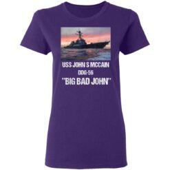 USS John S McCain T-Shirts 37 of Sapelle