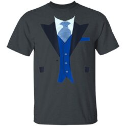 Funny Faux Fake Tuxedo Suit Top With Vest And Tie T-Shirts 15 of Sapelle