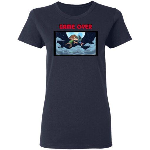 Scott Pilgrim Vs The World Game Over Kiss T-Shirts 12 of Sapelle