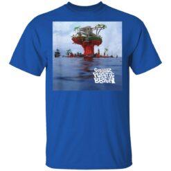 Gorillaz Plastic Beach LP Cover T-Shirts 25 of Sapelle