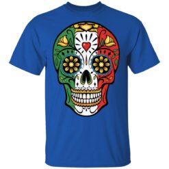 Cinco de Mayo Sugar Skull Calavera Mexican Flag T-Shirts 25 of Sapelle