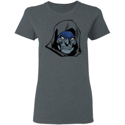 Marvel Fantastic Four Doctor Doom Big Face T-Shirts 8 of Sapelle