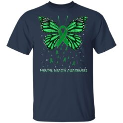 Mental Health Awareness Butterfly T-Shirts 21 of Sapelle