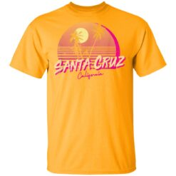 Retro Santa Cruz California Beach Sunset T-Shirts 17 of Sapelle