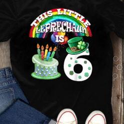6th Birthday Tshirt