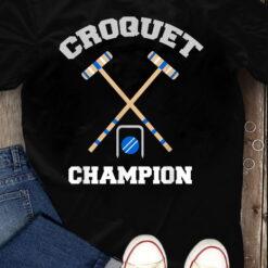 Croquet T Shirt