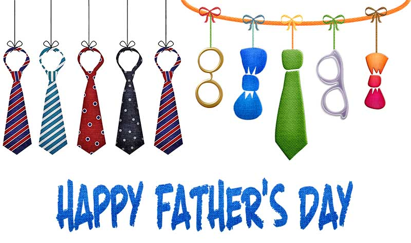 Happy Father's Day Image - Cravats