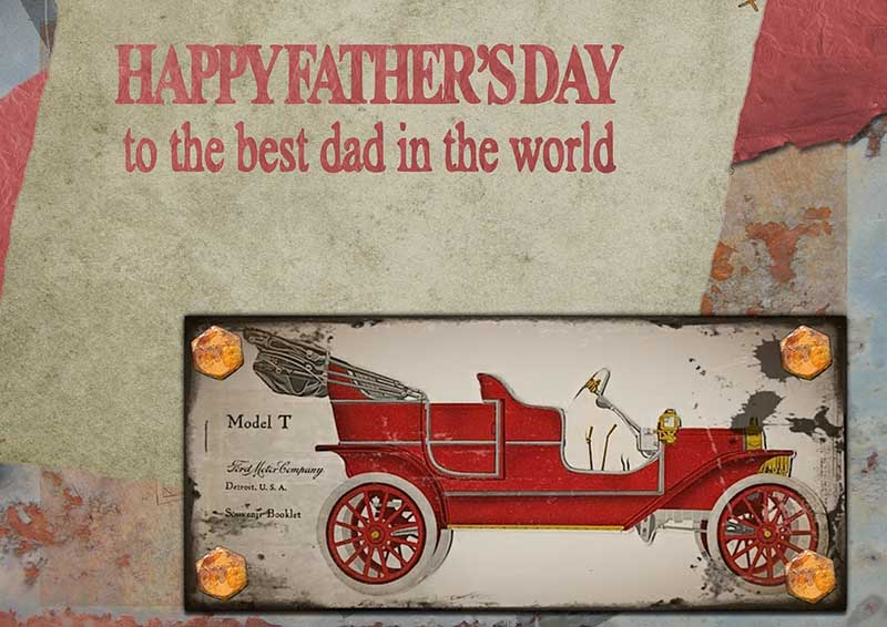 Happy Father's Day Image - To the best dad in the world