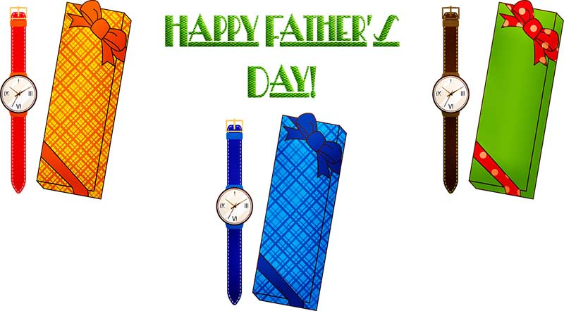 Happy Father's Day Image - Watch Gift