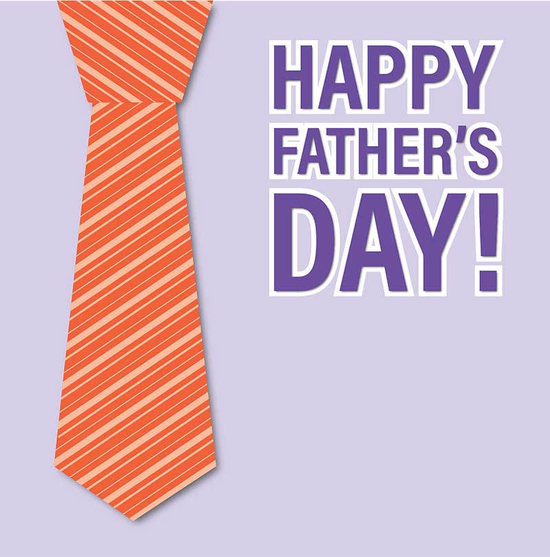 Happy Father's Day Image - With Cravat