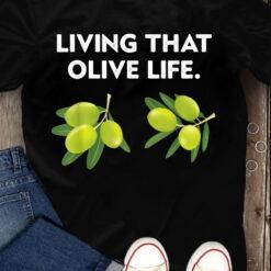 Olive Green T Shirt