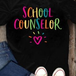 School Counselor T Shirt