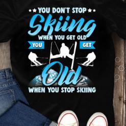 Skiing Tshirt