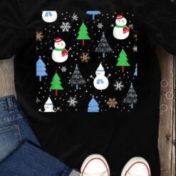 Snow Man T Shirt