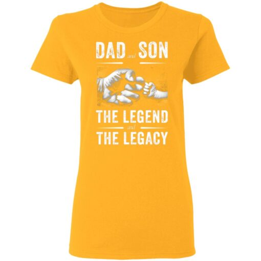 Best Birthday Gift For Dad From Son 2021 Dad And Son T-Shirt 10 of Sapelle