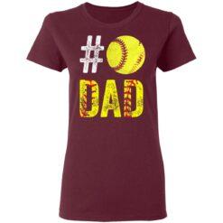 Best Softball Gift Shirt 2021 Softball Dad T Shirt T-Shirt 33 of Sapelle
