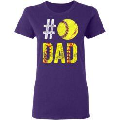 Best Softball Gift Shirt 2021 Softball Dad T Shirt T-Shirt 37 of Sapelle
