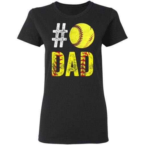 Best Softball Gift Shirt 2021 Softball Dad T Shirt T-Shirt 8 of Sapelle