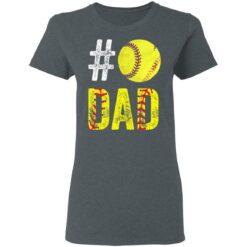 Best Softball Gift Shirt 2021 Softball Dad T Shirt T-Shirt 29 of Sapelle
