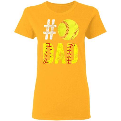 Best Softball Gift Shirt 2021 Softball Dad T Shirt T-Shirt 10 of Sapelle