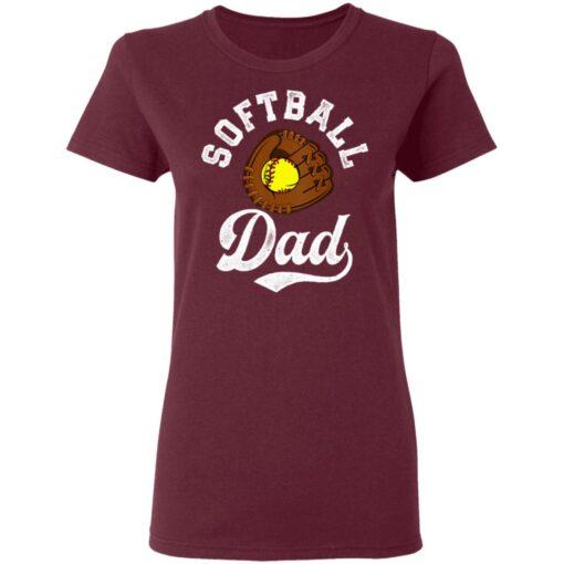 Best Softball Gift Shirt 2021 Softball Dad T Shirt T-Shirt 11 of Sapelle