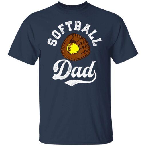 Best Softball Gift Shirt 2021 Softball Dad T Shirt T-Shirt 5 of Sapelle